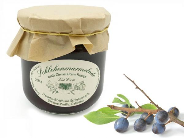 Schlehen-Marmelade