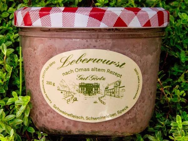Hausmacher-Leberwurst