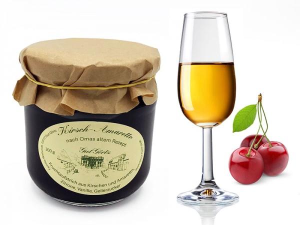 Kirsch-Amaretto Fruchtaufstrich
